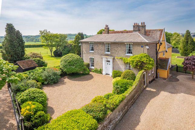 Thumbnail Farmhouse for sale in Mill Lane, Stowmarket, Suffolk