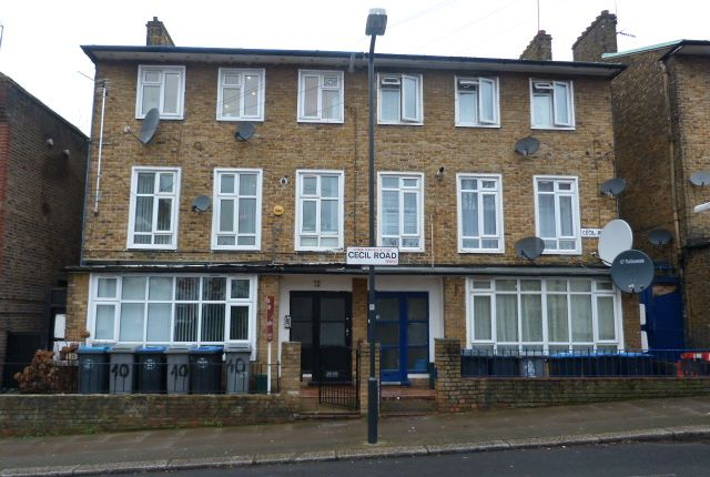 Thumbnail End terrace house for sale in Cecil Road, London