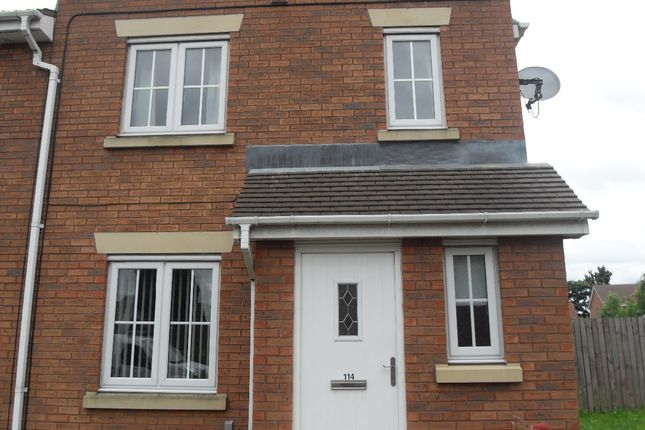 Thumbnail Semi-detached house to rent in Marfleet Avenue, Hull