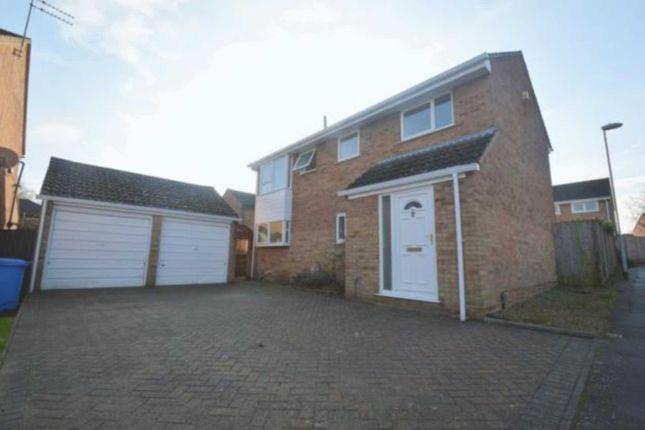 Thumbnail Detached house to rent in Houghton Close, Norwich