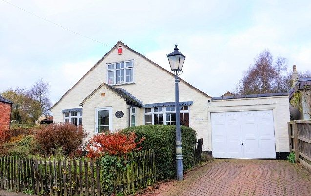Thumbnail Detached bungalow for sale in Main Street, Hungarton
