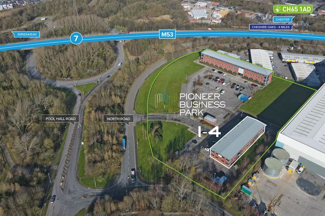 Thumbnail Office to let in Units 1-4, Pioneer Business Park, North Road, Ellesmere Port, Cheshire