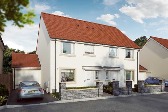 """Thumbnail Semi-detached house for sale in """"The Eveleigh"""" at Mill Lane, Bitton, Bristol"""