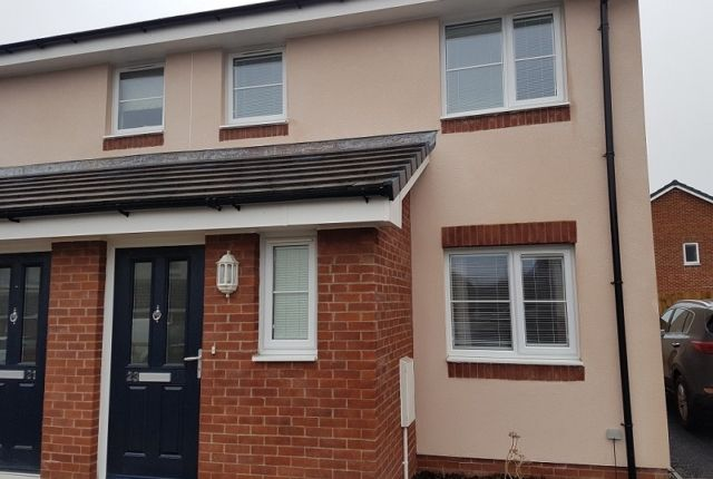 Thumbnail Semi-detached house to rent in Morris Drive, Pentrechwyth, Swansea.