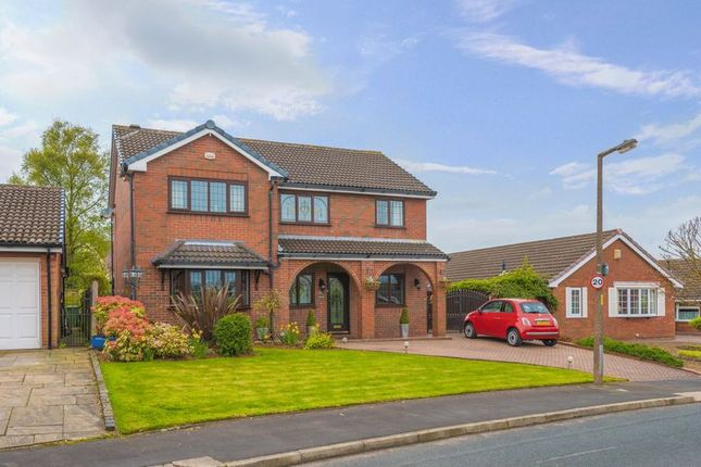 Thumbnail Detached house for sale in Boars Head Avenue, Standish, Wigan