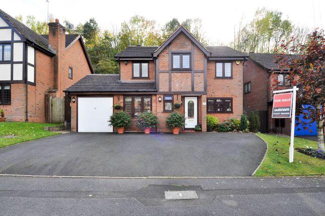 Thumbnail Detached house for sale in Claverdon Close, Hunt End, Redditch