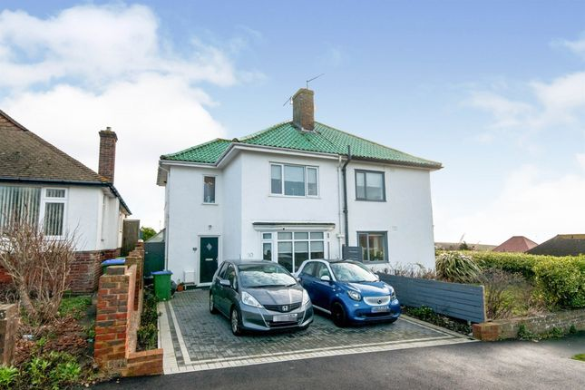 Thumbnail Semi-detached house for sale in Crowborough Road, Saltdean, Brighton