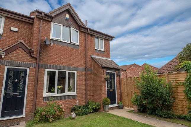 Thumbnail End terrace house for sale in Aldborough Way, York
