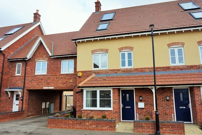 Thumbnail Terraced house for sale in Hilton Close, Kempston, Bedford, Bedfordshire