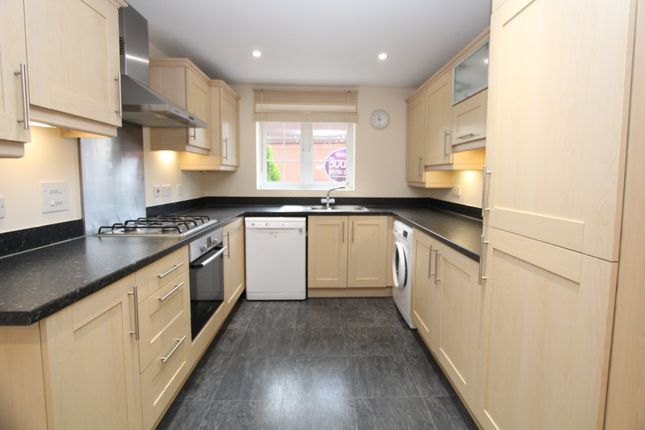 Thumbnail End terrace house to rent in Letcombe Place, Horndean, Waterlooville
