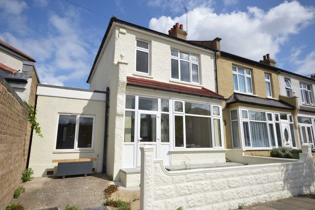 Thumbnail End terrace house for sale in Blithdale Road, London