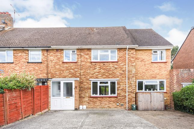 Thumbnail End terrace house for sale in Ebenezer Close, Witham