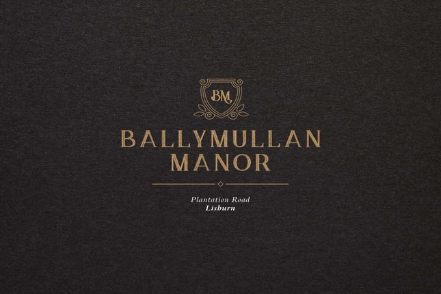 Thumbnail Detached house for sale in Ballymullan Manor, Plantation Road, Lisburn
