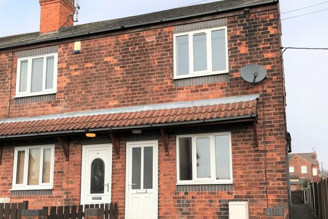 Thumbnail End terrace house to rent in Victoria Street, Creswell, Worksop