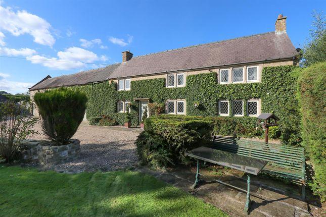 Thumbnail Detached house for sale in White House Farm, Plaistow Green, Crich, Matlock