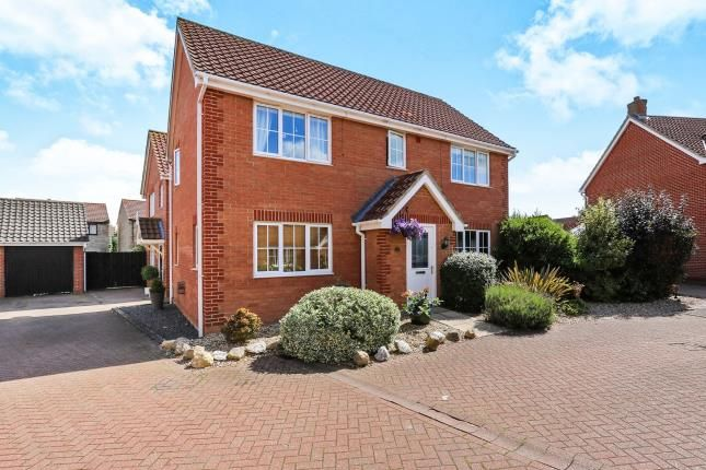 Thumbnail Detached house for sale in Attleborough, Norwich, Norfolk