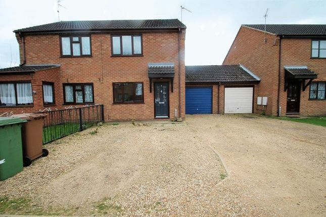 Thumbnail Semi-detached house to rent in Hedgelands, Wisbech