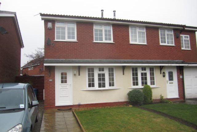 Thumbnail Semi-detached house to rent in Hazelborough Close, Gorse Covert, Warrington, Cheshire