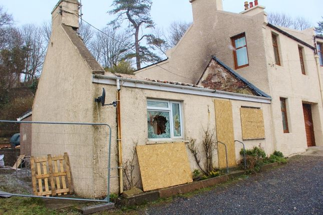 Thumbnail End terrace house for sale in Tukvar, Cairnryan
