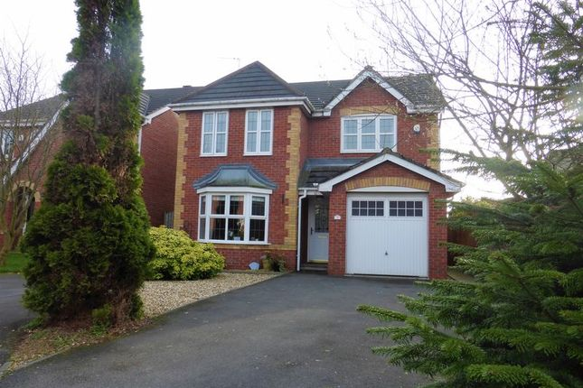 Thumbnail Detached house for sale in Horrocks Fold, Much Hoole, Preston