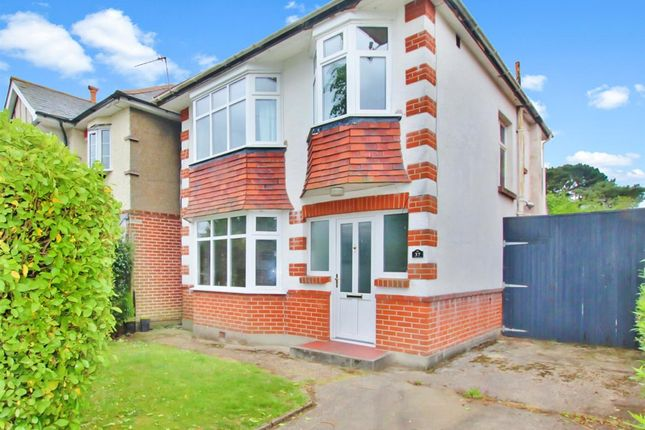 Thumbnail Detached house for sale in Haverstock Road, Moordown, Bournemouth