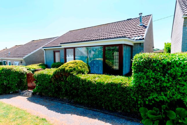 Thumbnail Detached bungalow for sale in Polwithen Drive, St. Ives