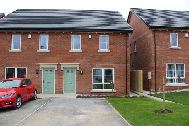 Thumbnail Semi-detached house to rent in Millmount Village Way Millmount Village Square, Dundonald, Belfast