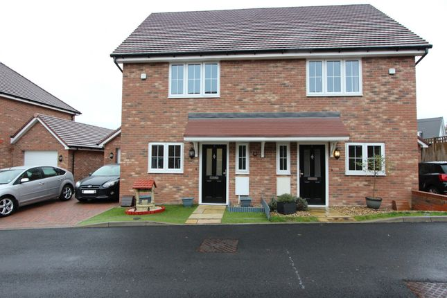 2 bed semi-detached house for sale in Greensand Meadow, Sutton Valence, Maidstone ME17