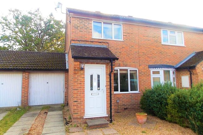 Thumbnail End terrace house to rent in The Pathfinders, Farnborough
