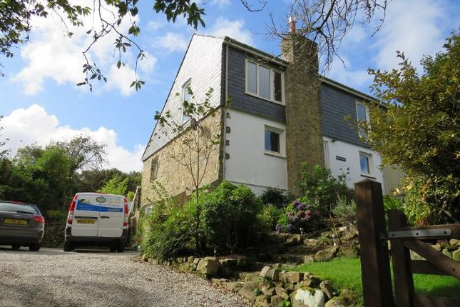 Thumbnail Semi-detached house for sale in Nancledra, St Ives, Cornwall.
