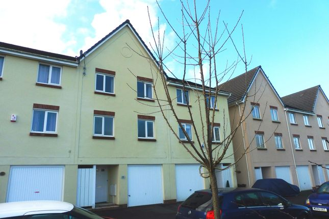 Thumbnail Town house to rent in Bridge View, Plymouth