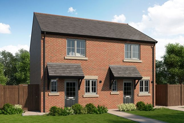 Thumbnail Semi-detached house for sale in Showfields, Haydon Bridge, Hexham, Northumberland