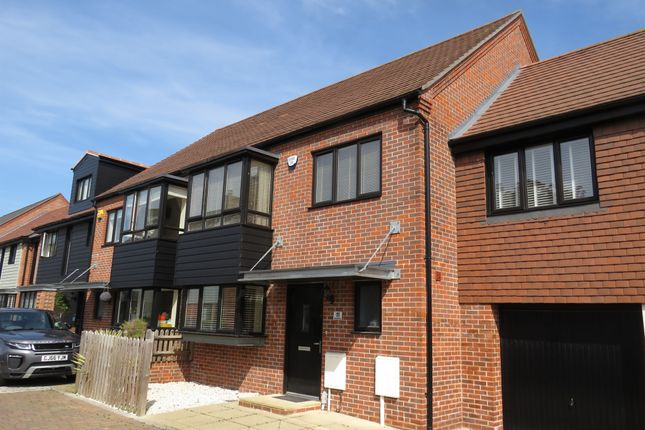 Thumbnail Semi-detached house for sale in Derby Drive, Leybourne, West Malling