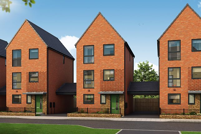 """Thumbnail Detached house for sale in """"The Larwood"""" at Arkwright Walk, Nottingham"""