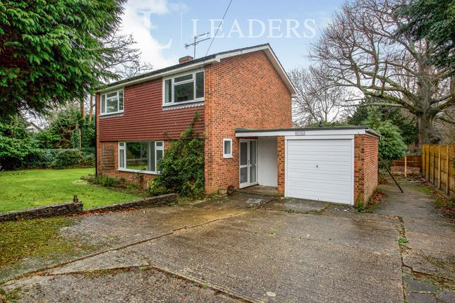 Thumbnail Detached house to rent in Nutkins, Grange Park, Woking