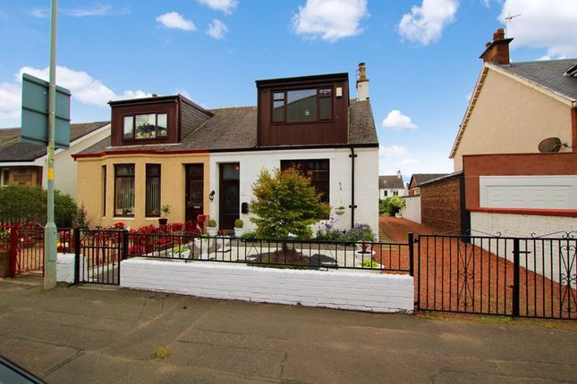 Thumbnail Semi-detached house for sale in Firpark Street, Motherwell
