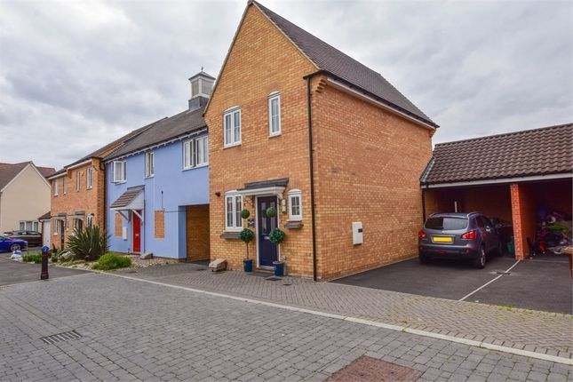 Thumbnail Link-detached house for sale in Henry Everett Grove, Colchester, Essex