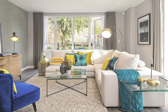 Thumbnail Flat for sale in Plot 187, Central Square Apartments, Acton Gardens, Bollo Lane, Acton, London
