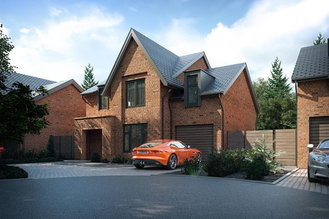 Thumbnail Detached house for sale in Bank Farm Grove, Middlewich Road, Holmes Chapel