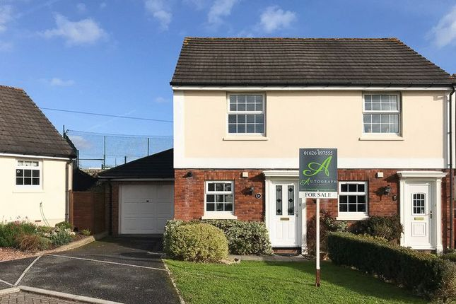Thumbnail Semi-detached house for sale in Lawn Gardens, Chudleigh, Newton Abbot