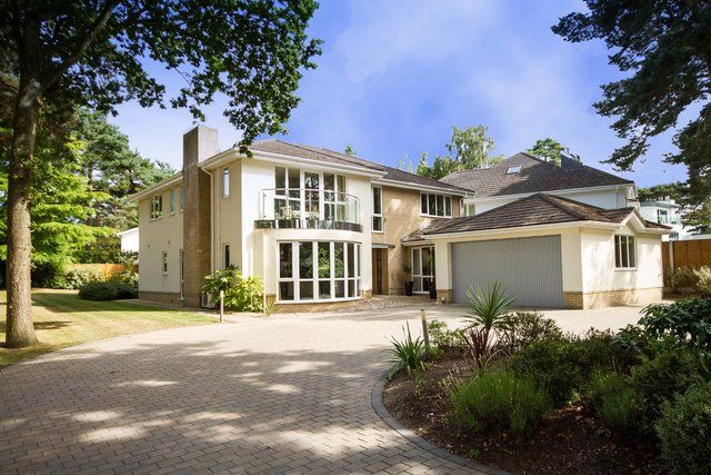 Thumbnail Detached house for sale in Crichel Mount Road, Evening Hill, Poole, Dorset