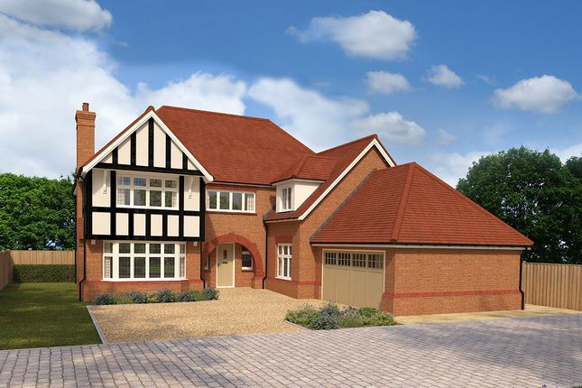 "Thumbnail Detached house for sale in ""Sandringham Premium"" at Nicker Hill, Keyworth, Nottingham"