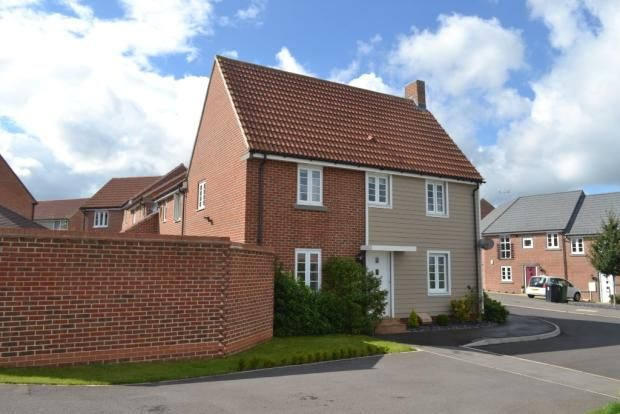 Thumbnail Link-detached house to rent in Kew Close, Basingstoke