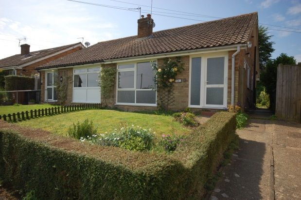 Thumbnail Semi-detached bungalow to rent in Jeffreys Way, Uckfield