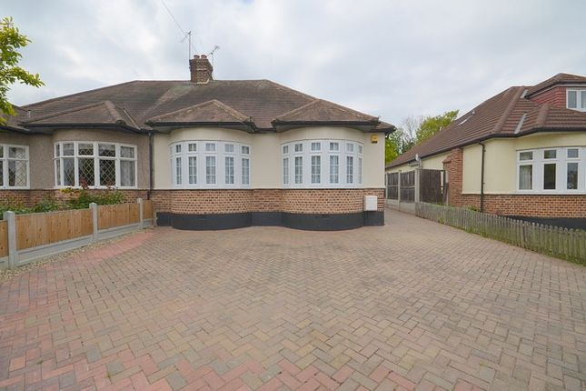 Thumbnail Bungalow to rent in Eversleigh Gardens, Upminster