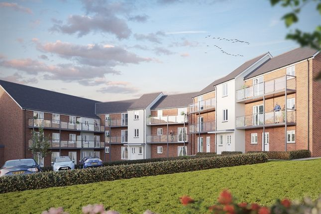 "Thumbnail Flat for sale in ""The Churchill"" at Whitfield House, Blakeslee Drive, Exeter"