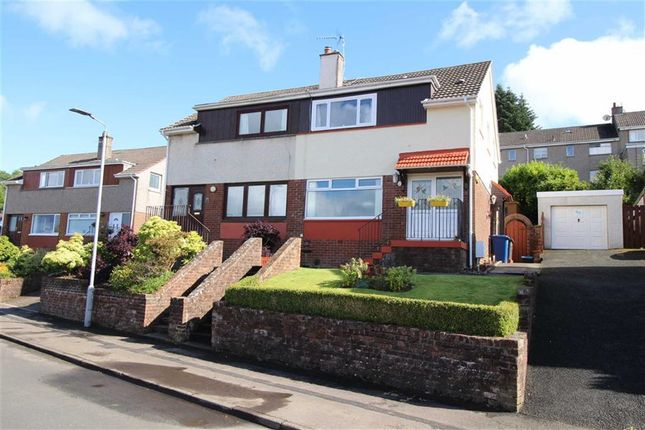 Thumbnail Semi-detached house for sale in Cowal View, Gourock, Renfrewshire
