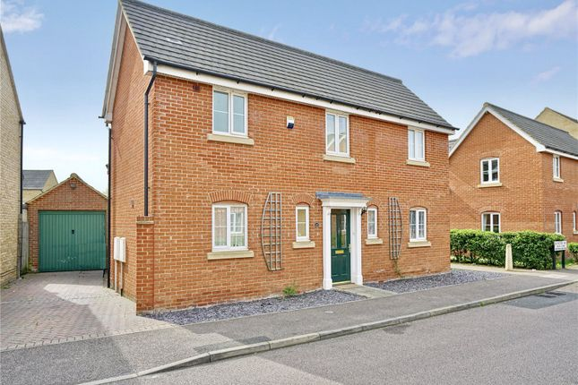 Thumbnail Detached house for sale in Bevington Way, Eynesbury, St. Neots