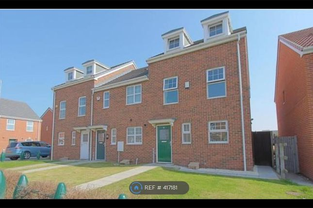 Thumbnail End terrace house to rent in Brunel Walk, Stockton-On-Tees