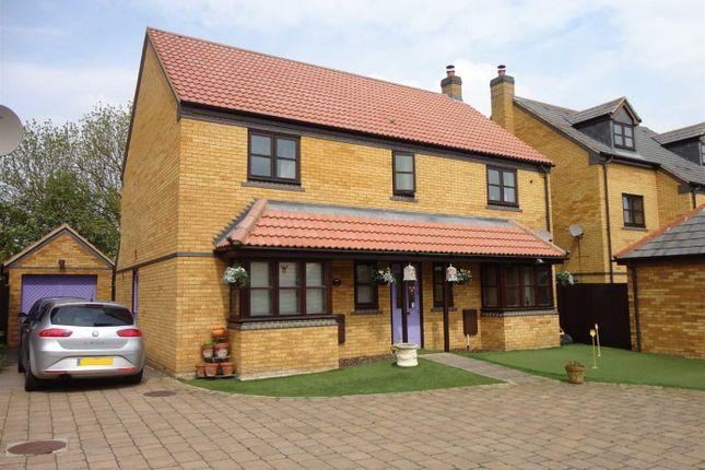 Thumbnail 4 bed detached house for sale in Gainsborough Close, Grange Farm, Milton Keynes